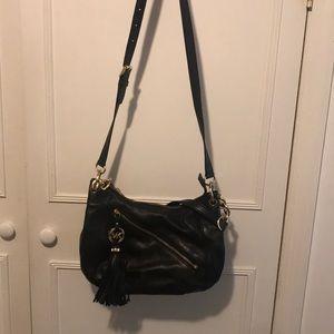 Michael Kors Black Leather Pocketbook